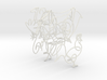 Picasso Animals: Wire Wall Art 3d printed