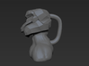 Conceptual coffee cup 3d printed