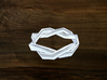 Turk's Head Knot Ring 2 Part X 6 Bight - Size 3.25 3d printed