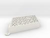 Penrose Mezuzah (fat rhomb) 3d printed