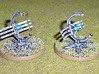 6mm DeathBot Death Rays (4 pcs) 3d printed Picture courtesy of Markconz at http://hordesofthings.blogspot.co.nz/