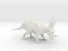 Styracosaurus 1:40 scale model 3d printed