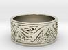 BJR celtic hound ring 22.5mmx10mmx1.45mm 3d printed