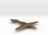 Uni-Dir Slim Plane Toy (88mm long) 3d printed