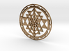 Sri Yantra Lotus Circle 42x2mm Super-accurate 3d printed