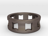 Concave Ring Size 8.5 3d printed