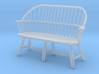 1:43 Windsor Settee 3d printed