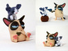 Don't Get Grumpy... Get Even! 3d printed Please note you only get the gun cat with this purchase