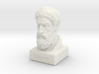 Epicurus Bust 4 inches 3d printed