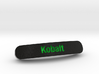 Kobalt Nameplate for SteelSeries Rival 3d printed