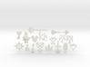 Kingdom Hearts Charms ENTIRE Set Plus Moogle  3d printed