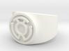 Sinestro Yellow Fear GL Ring Sz 11 3d printed
