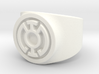 Blue Hope GL Ring Sz 7 3d printed