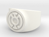 Blue Hope GL Ring Sz 11 3d printed