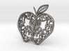 Inside the Apple - Pendant 3d printed