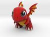 Dragonvale Baby Fire Dragon 3d printed