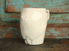 Happy Stingray Mug 3d printed shown here in (discontinued) ceramic material