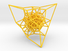 Inversion of a diamond lattice 3d printed