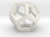 Dodecahedron Small 3d printed