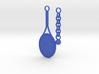 Play Tennis Keychain  3d printed