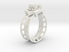 Rollercoaster Ring 3d printed