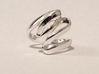 Loop Ring Size 9 (All Sizes) 3d printed Older Design Made in Polished Silver
