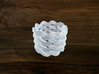 Turk's Head Knot Ring 7 Part X 9 Bight - Size 7 3d printed