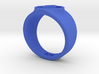 Indigo Tribe Compassion GL Ring Sz 14 3d printed
