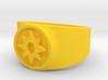 Love Star Saphire GL Ring Sz 15 3d printed