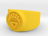 White Life GL Ring Sz 14 3d printed