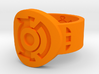 Green & Blue Lantern Hal Jordan Ring 3d printed