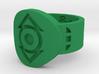 Indigo Tribe FF Ring (Sz's 5-15) 3d printed