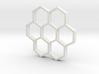 honeycomb pendant 3d printed