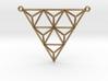 Tetrahedron Pendant 2 3d printed