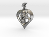 Burn heart with music 3d printed