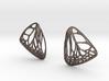 Butterfly Earrings (S) Plastic 3d printed