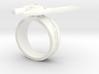 GG Rage Ring Sz 11 3d printed