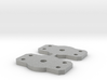 Flat Bolster for Walthers 2 axle trucks 3d printed