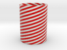 Cleophea Tealight Red Twirl 3d printed