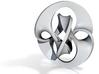 Antichron Pendant for Precious Metals 3d printed