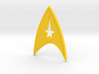 starfleet insigna - command 3d printed