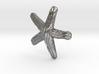 Groovy Starfish Earring 3d printed