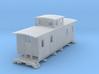 HOn3 30ft Caboose C 3d printed