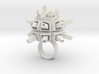 Spacey Ring 3d printed