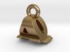 3D Monogram Pendant - AQF1 3d printed
