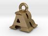 3D Monogram Pendant - ARF1 3d printed