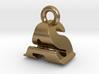3D Monogram Pendant - ASF1 3d printed