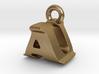 3D Monogram Pendant - AUF1 3d printed