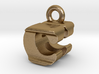 3D Monogram Pendant - CHF1 3d printed