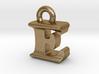 3D Monogram Pendant - EIF1 3d printed